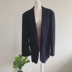 100% Wool Men's Pendleton Navy Blue Sport Coat